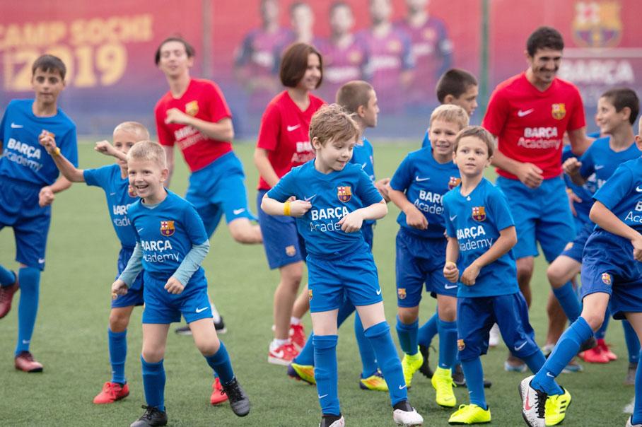 Футбольный клуб барселона в сочи вакансии